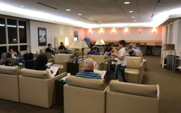 Air France Lounge Boston – 8