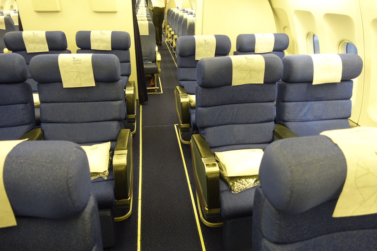Review Azores Airlines Business Class A310 Boston To