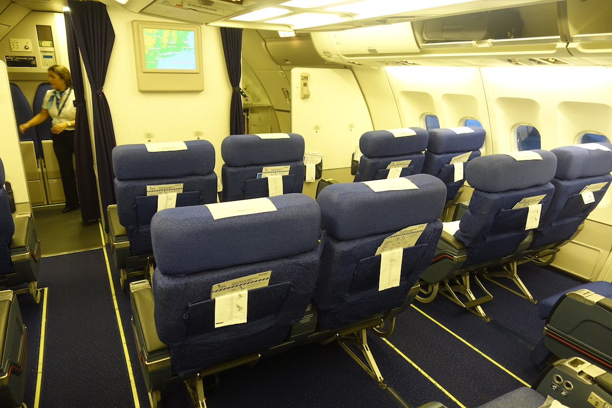 Review Azores Airlines Business Class A310 Boston To Ponta Delgada