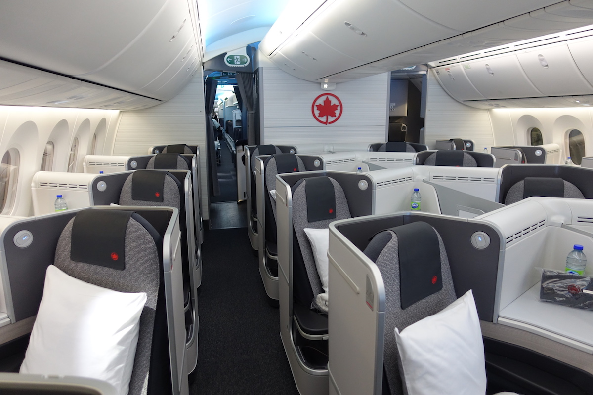 Air Canada Business Class New Signature Service on the Boeing 787