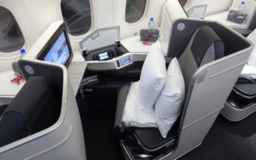 Air Canada Business Class 2