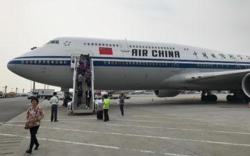 Air China First Class 747 99