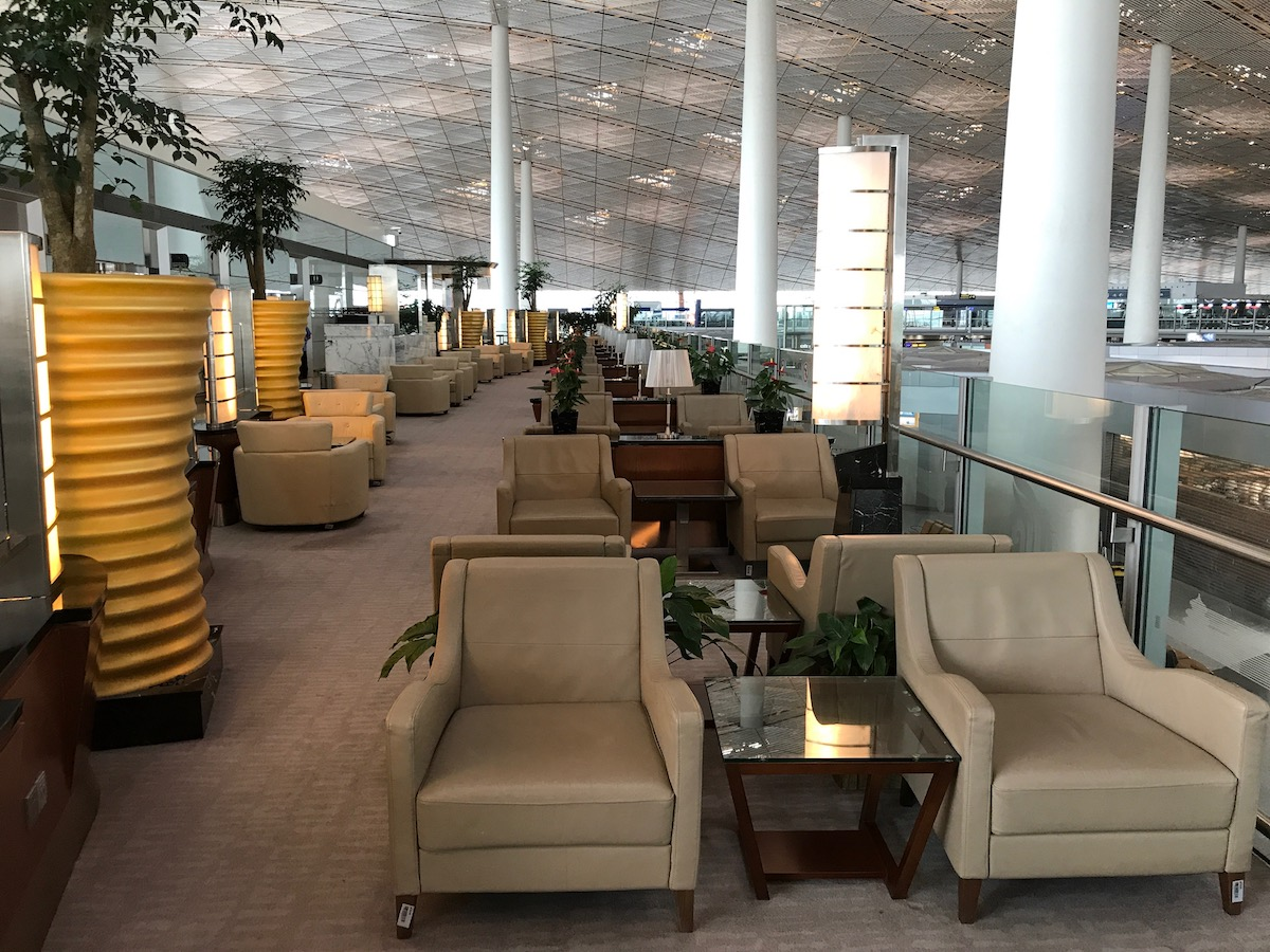 Review Air China First Class Lounge Beijing Airport One