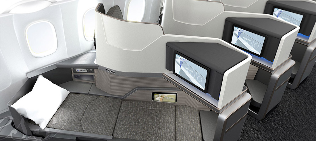 The Future Of Narrowbody Flat Bed Business Class One