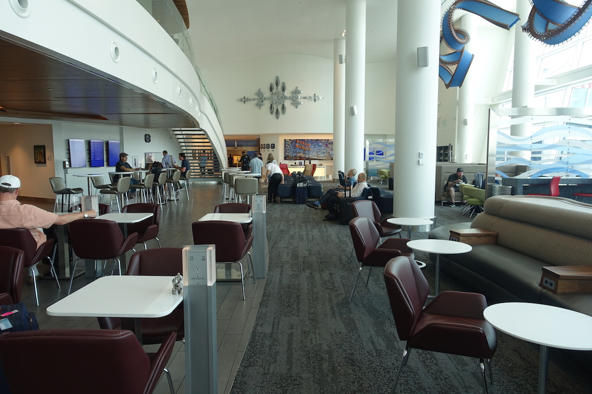 Review: Delta SkyClub Seattle Airport | One Mile at a Time