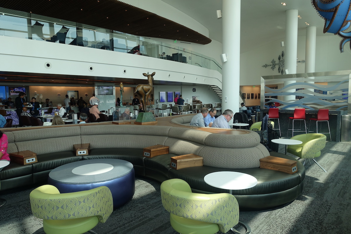 Review: Delta SkyClub Seattle Airport   One Mile at a Time