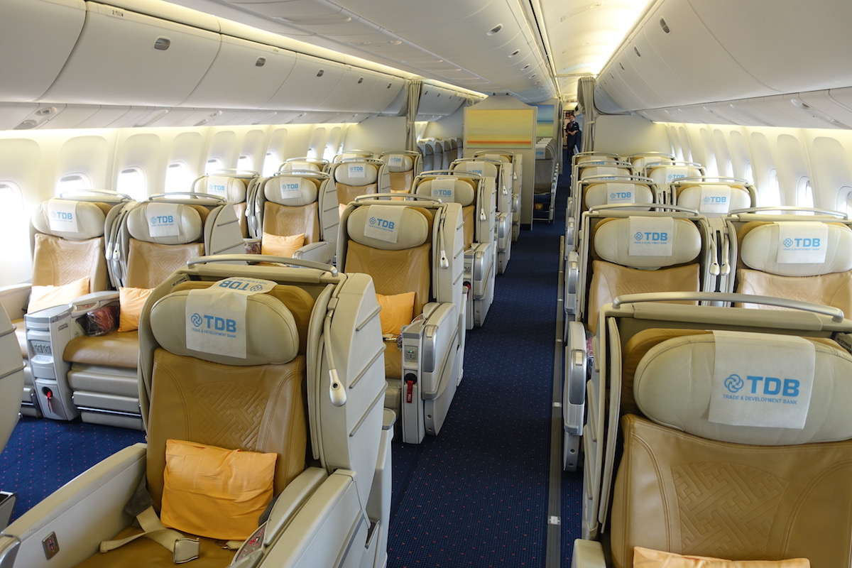 Review: MIAT Mongolian Business Class 767 Ulaanbaatar To Frankfurt - One Mile at a Time