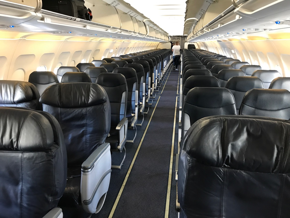 Spirit Airlines A319 Cabin