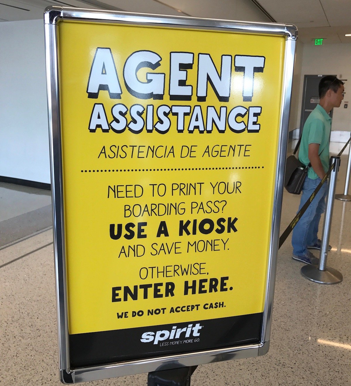 Spirit Airlines Check In >> Review Spirit Airlines Booking Check In Process One