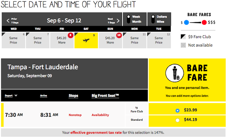 Here's Why It's Cheaper To Buy Spirit Airlines Tickets At