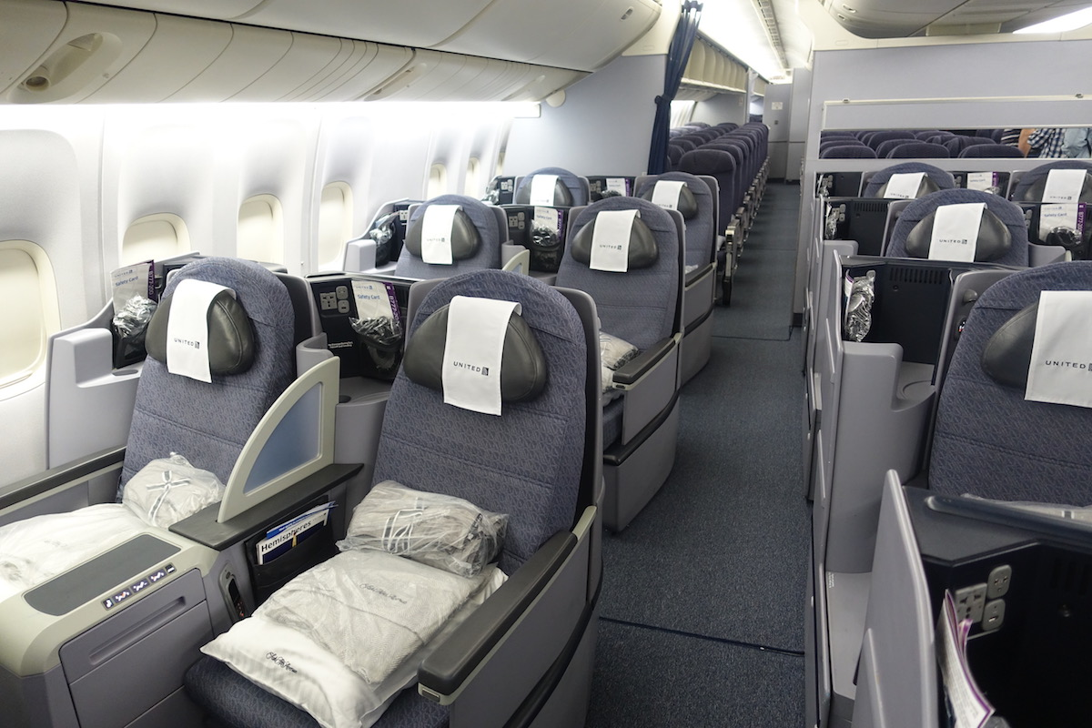 United-Business-Class-777 - 4 - One Mile at a Time