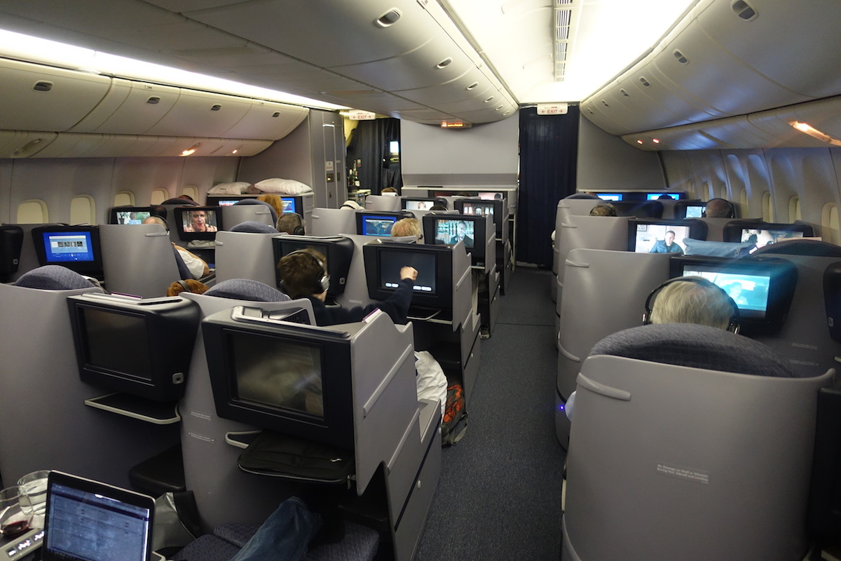 United business class 777 53 one mile at a time for First class 8 interieur