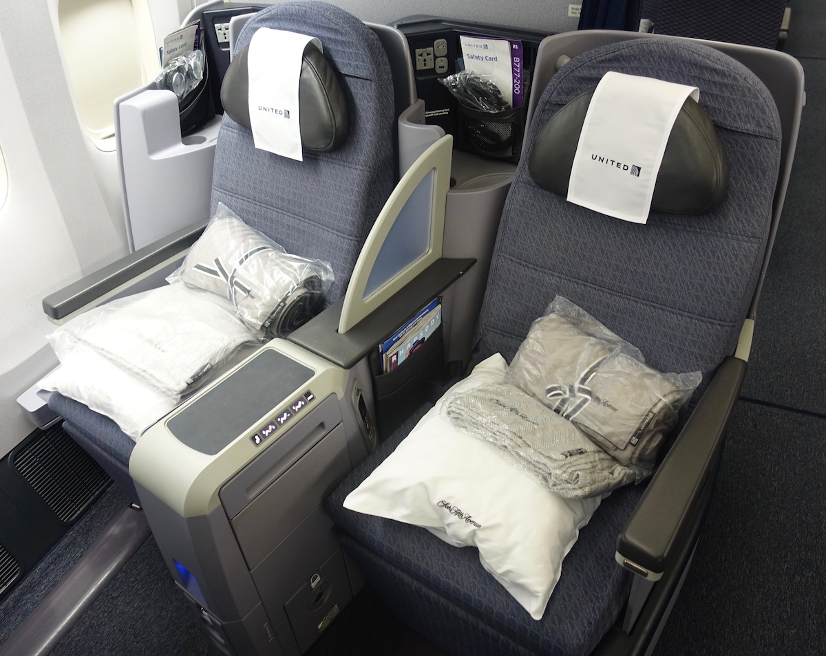 United Business Class 777 200 Review I One Mile At A Time