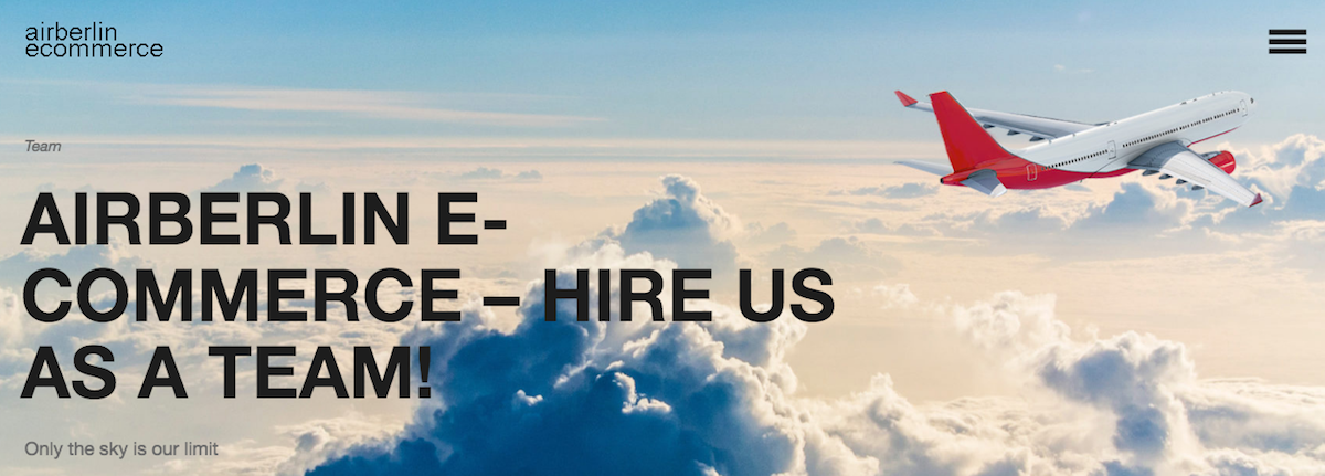 Need E-Commerce Help? Airberlin's 60+ Person Team Is Looking For Work! - One Mile at a Time