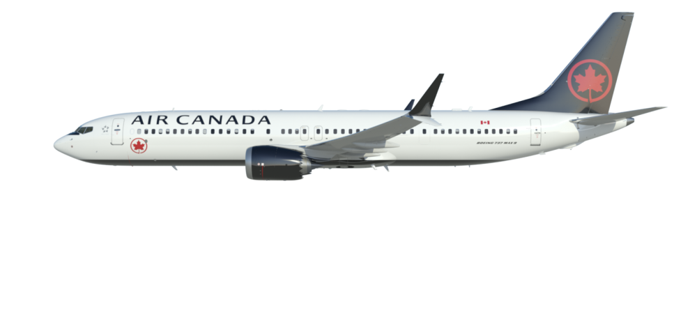 Air Canada 737 Max 8 Seatmaps Revealed One Mile At A Time