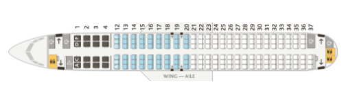 Ac 737 Seatmap One Mile At A Time