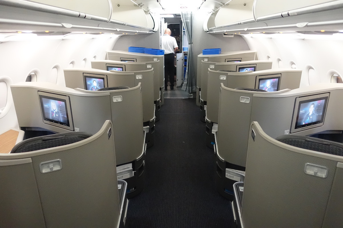Review: American First Class A321 New York To Los Angeles
