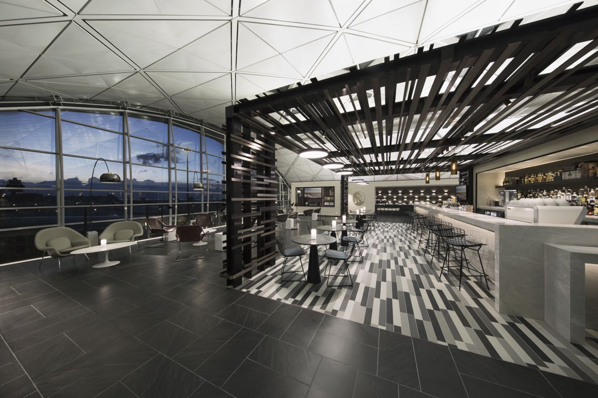 Amex Centurion Lounges In Hong Kong
