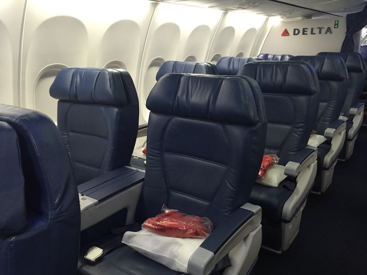 Tiny Home Designs: My First Experience With Delta's First Class Buy-Up Offers