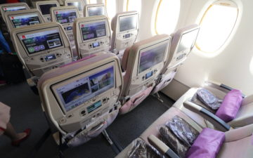 Review Emirates A380 And 777 300er Economy Class Zurich To Dubai To
