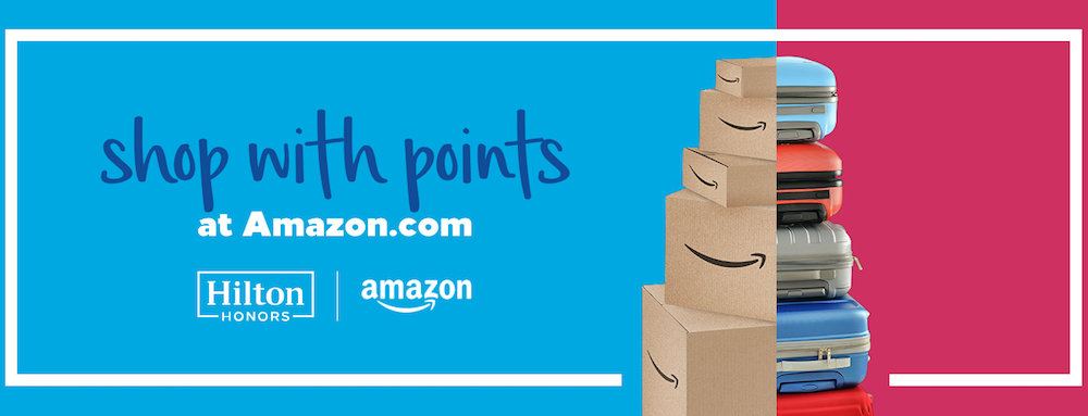 You Can Now Redeem Hilton Honors Points For Amazon Purchases (But
