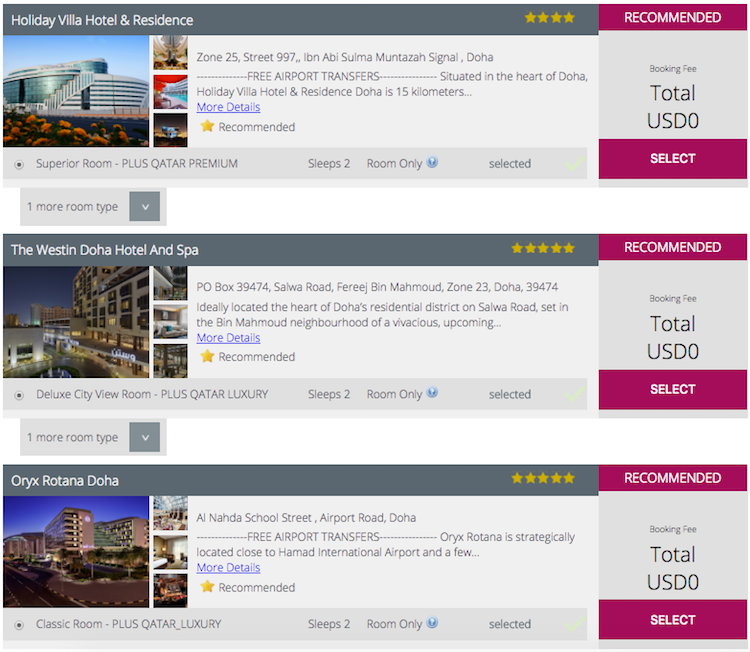 How To Book A Free Doha Stopover Hotel When Flying Qatar