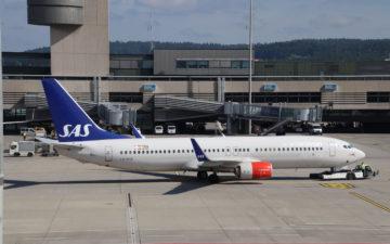 Sas 737 800 Zrh Pushback
