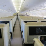 Singapore A380 Business Class