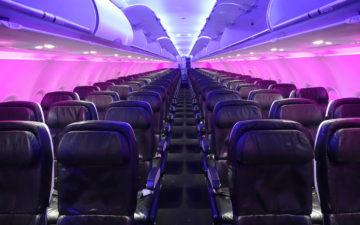 Virgin America A320 First Class – 4