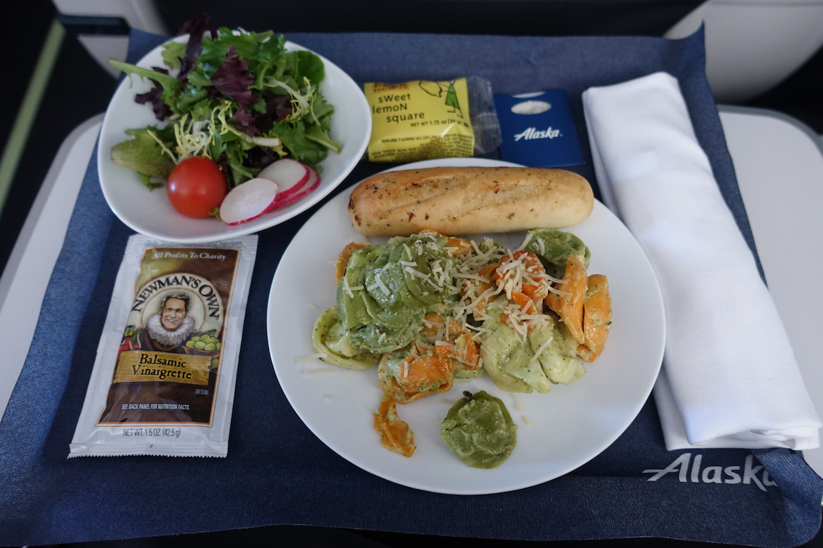 Alaska Airlines Now Lets You Pre Order First Class Meals
