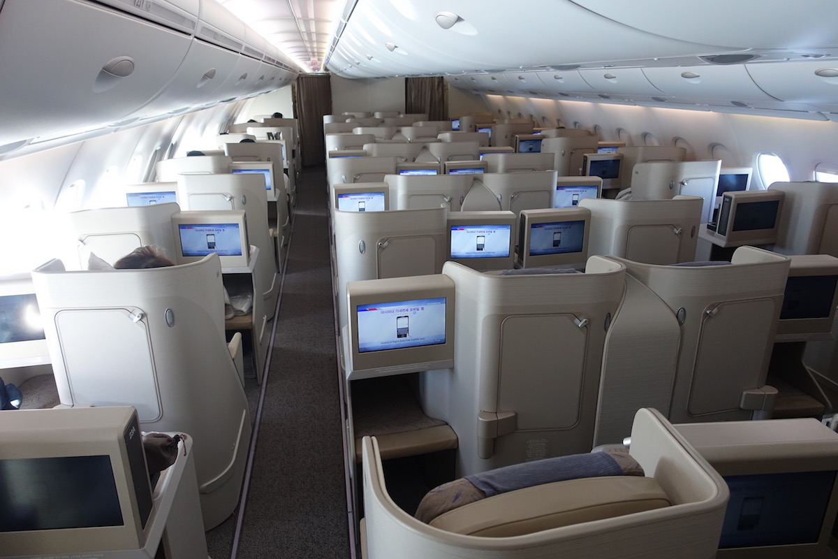Review Asiana Business Class A380 Los Angeles To Seoul - One Mile At A Time