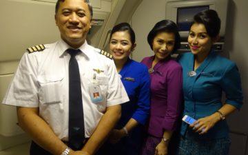 Garuda Indonesia Crew
