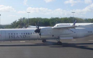 Hawaiian 717 First Class – 42