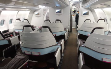Hawaiian Airlines A330 First Class – 4
