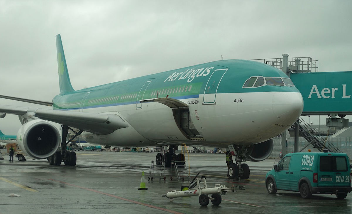 Aer Lingus A330 Business Class 1