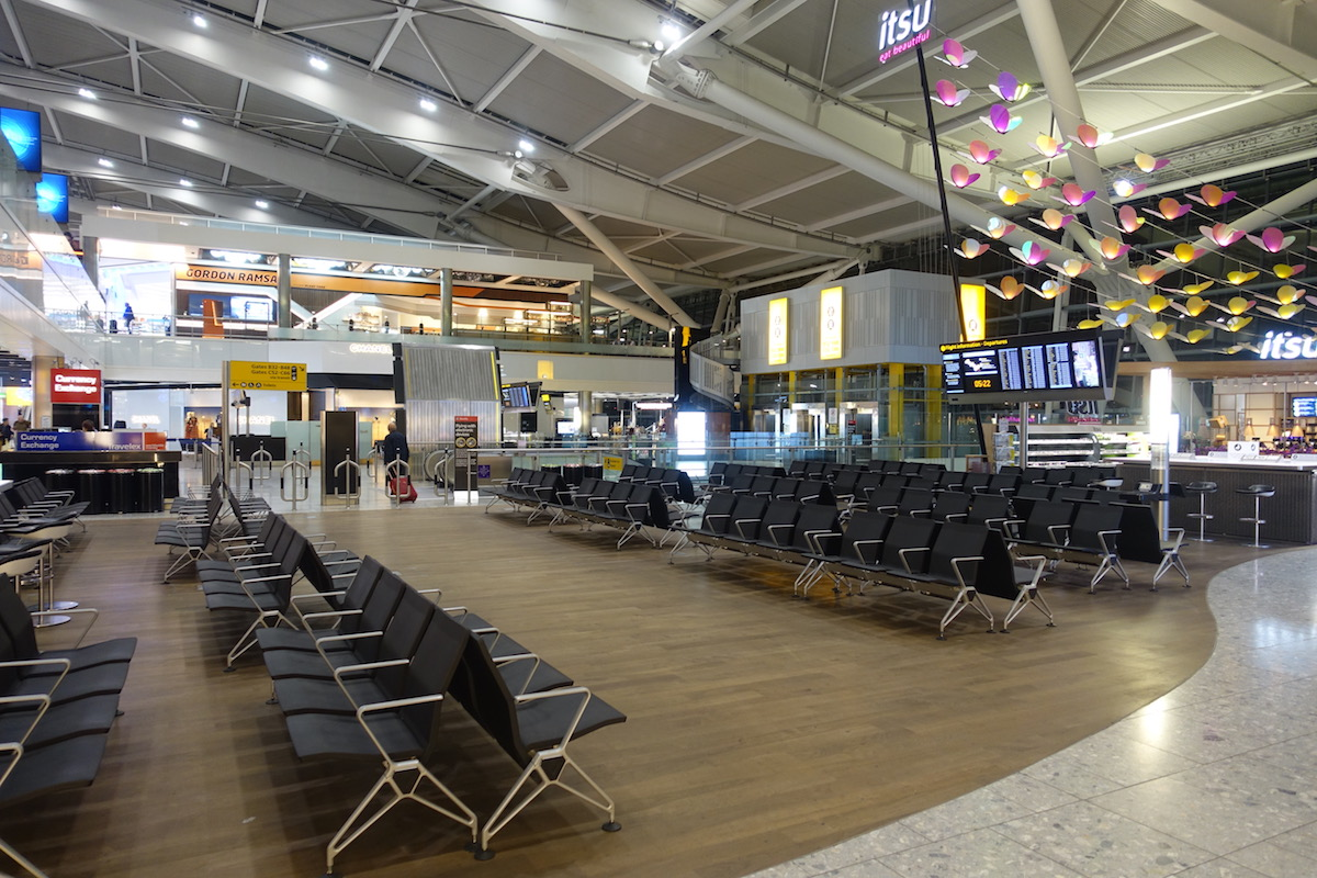 Review Aspire Lounge London Heathrow Terminal 5 One