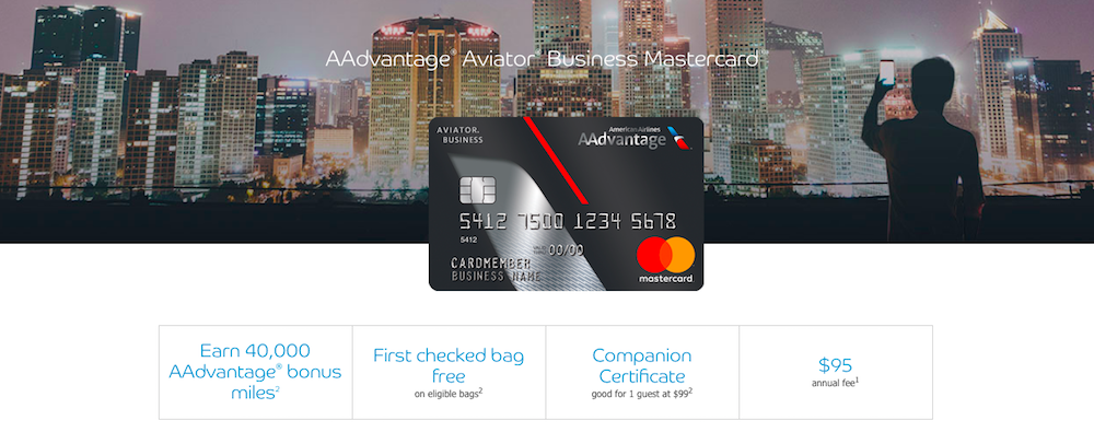 You Can Now Apply For The Aadvantage Aviator Business