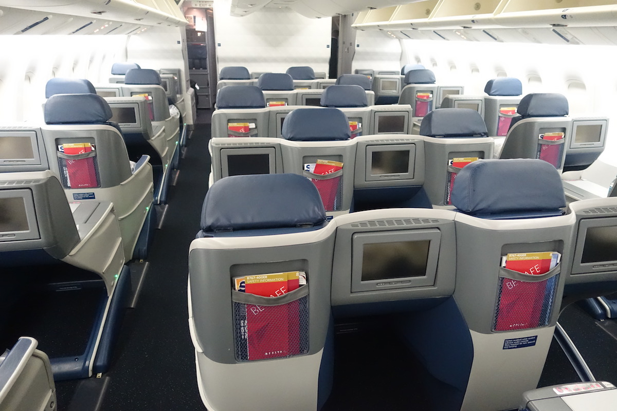 Delta's New 767-400 Business Class Isn't What I Expected
