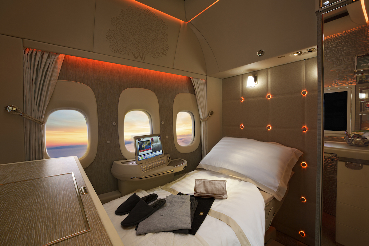 Full Details Emirates Stunning New First Class Suite One Mile at