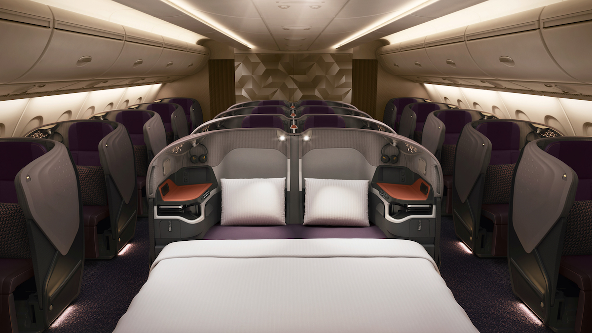 full details of singapore 39 s new a380 business class one mile at a time. Black Bedroom Furniture Sets. Home Design Ideas