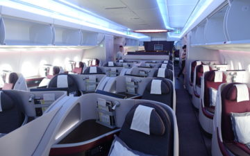 Qatar Airways A350 Business Class – 2