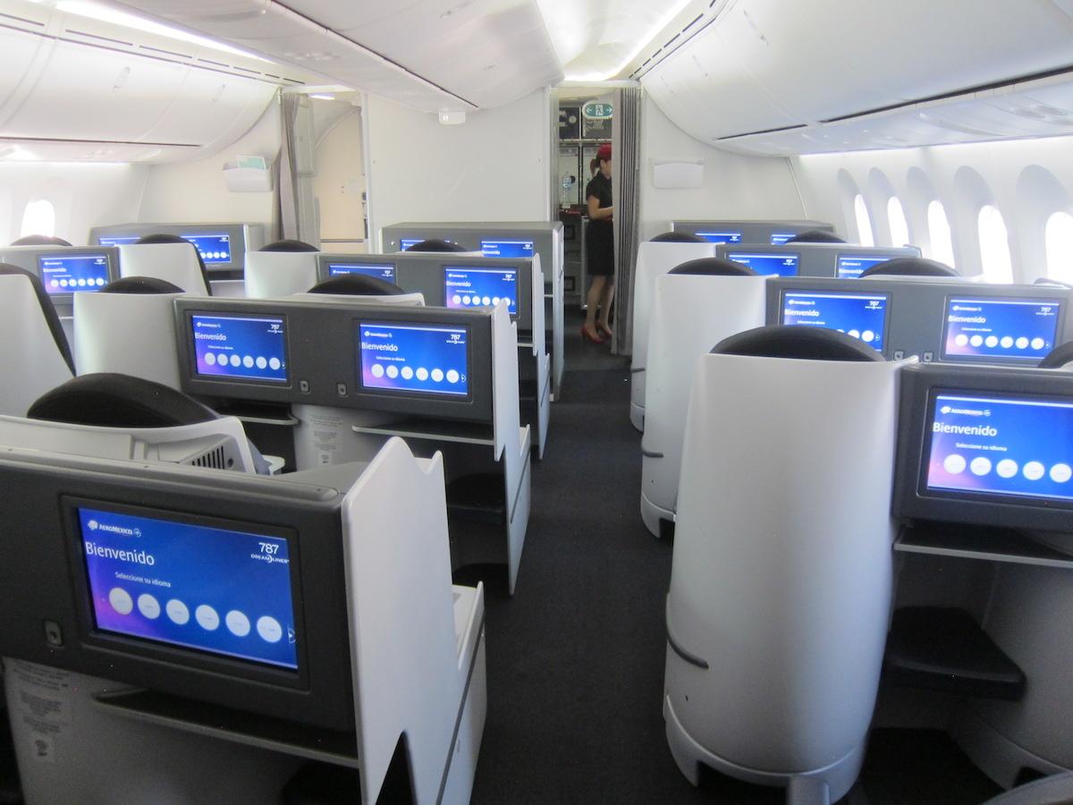 Aeromexico Business Class 1