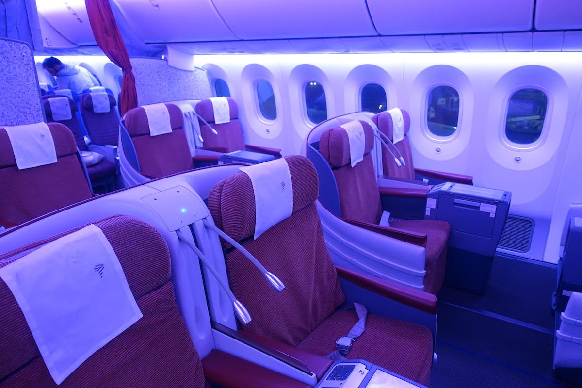 Review Latam Business Class 787 Mexico City To Santiago