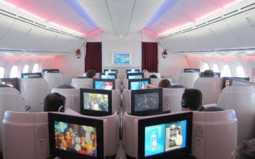 Qatar Airways 787 Business Class