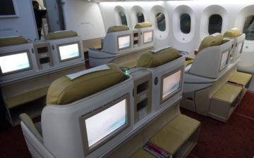 Air India 787 Business Class – 2