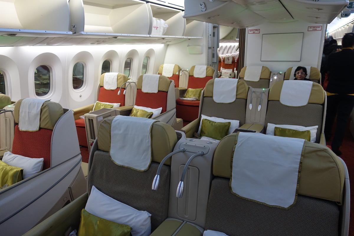 Review air india business class 787 frankfurt to delhi for Cabine in delhi la