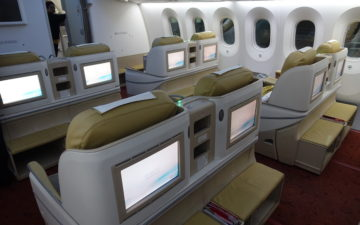Air India Business Class 787 – 8