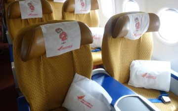 Air India Business Class A321 – 7