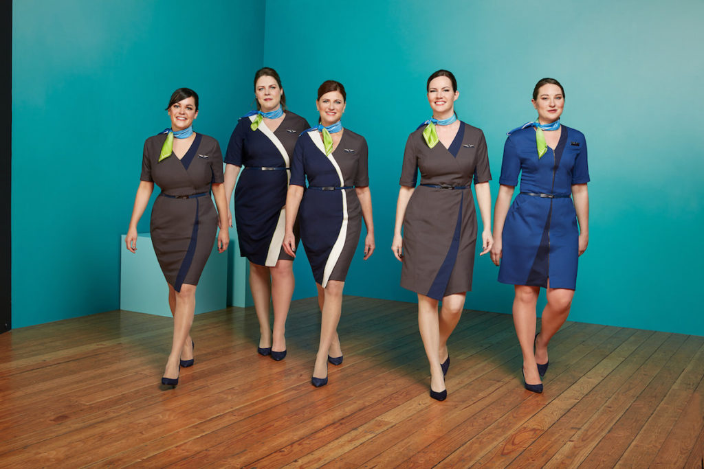 Alaska Airlines Reveals New Employee Uniforms