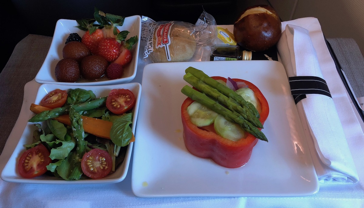 American Airlines International Travel Meals
